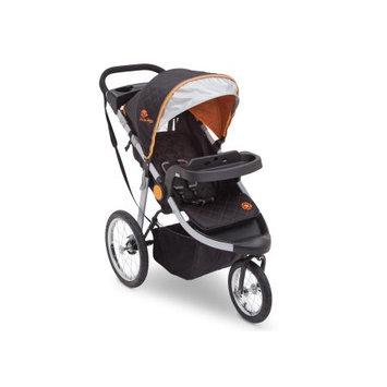 Delt Children J is for Jeep Brand All-Terrain Jogging Stroller, Trek Orange Tonal