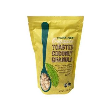 Trader Joe's Organic Toasted Coconut Granola 12oz