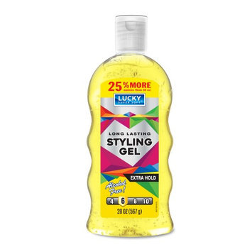 Lucky Super Soft Styling Gel, Extra Hold, 16 Oz