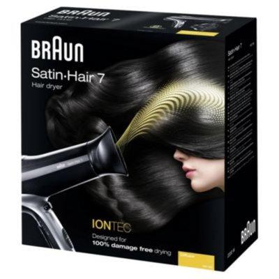 Braun Satin Hair 7 HD730 Iontec Hair Dryer