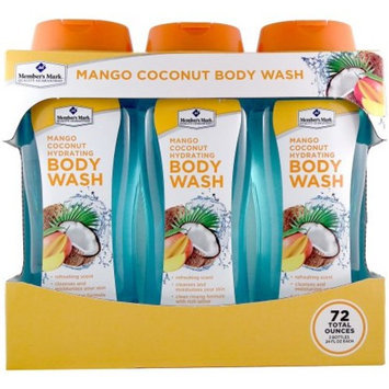 Member's Mark Mango Coconut Hydrating Body Wash (24 fl. oz., 3 pk.)