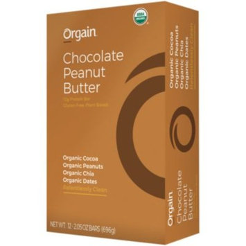 ORGAIN - CHOCOLATE PEANUT BUTTER (12 Bars) by Orgain at the Vitamin Shoppe
