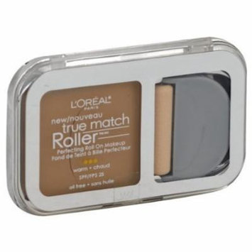 Exclusive Quality Make Up Product By L'Oreal Paris True Match Roller, Natural Beige W4 Makeup, Perfecting Roll On, 0.30 oz (8.5 g) 1 Pack...BRAND NEW By L'Oreal Paris