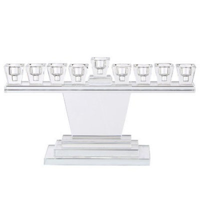 A & B Home Group Inc Society Chic Glass Candelabra