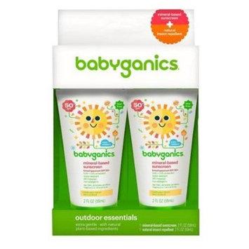Babyganics Sun Lotion Duo, SPF 50 - 4oz
