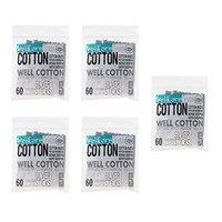 D DOLITY Lot 300pcs Wood Cotton Swab Tattoo Permanent Microblading Cosmetics Makeup Applicator Stick for Women Lady Men Adult Use