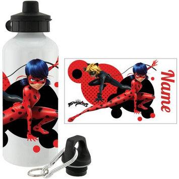 Miraculous Ladybug & Cat Noir Personalized Water Bottle