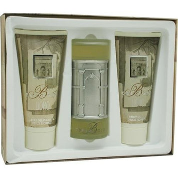 BELLAGIO by Bellagio Cologne Gift Set for Men (SET-EDT SPRAY 3.4 OZ & AFTERSHAVE BALM 6.8 OZ & SHOWE