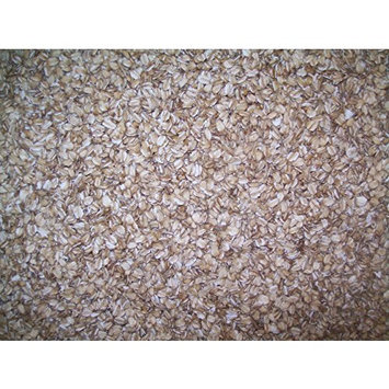 Organic Rolled Oats: Fresh Cold Rolled Raw Hulless Oats, Farmer Direct, non-GMO and Organic, rolled fresh, 15 lbs.