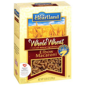 American Italian Pasta Heartland: Elbow Macaroni Whole Wheat Spaghetti Product, 13.25 oz