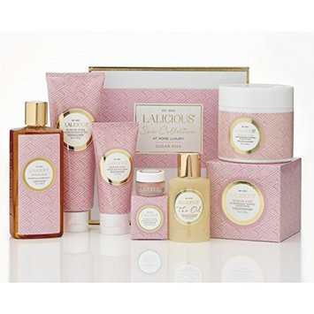 LALICIOUS - Sugar Kiss At Home Spa Collection Box