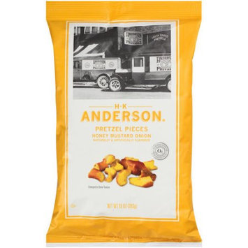 Hk Anderson H.K. Anderson Honey Mustard Onion Pretzel Pieces, 10 oz