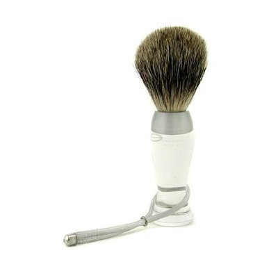 Eshave Shave Brush Fine Clear 1Pc
