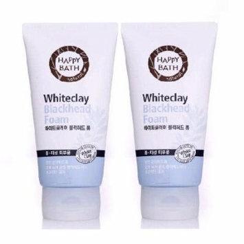 Happy Bath Whiteclay Blackhead Foam 2ea (150g+150g)