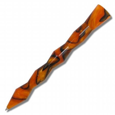 Acme Studios P2KR19ORRB Kuzi Retractable Ballpoint Pen Orange