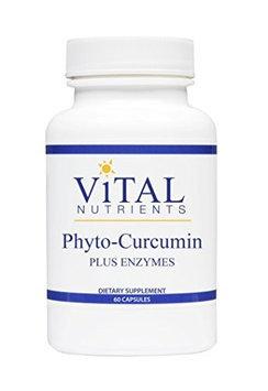Vital Nutrient's Vital Nutrients Phyto-Curcumin Plus Enzymes - 60 Capsules