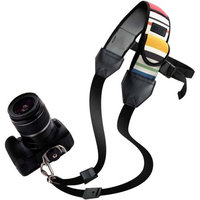 Accessory Power USA Gear Adjustable Neoprene Digital Camera Carrying Strap with Thick Neoprene and Safety Strap
