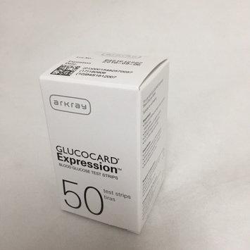Arkray Glucocard Expression Blood Glucose Test Strips 50/bx