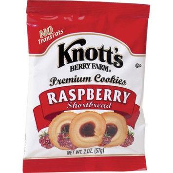 Biscomerica Knott's Shortbread Cookies, Raspberry, 2 Oz, 60 Ct