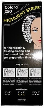 Colora Highlight Strips - 4 x 10 250 Sheets