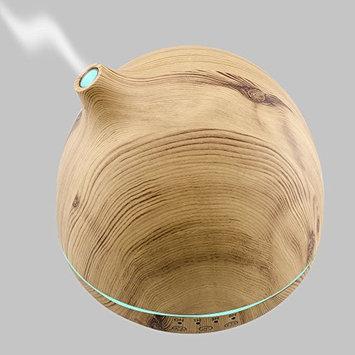 Lineyun Woodgrain Essential Oil Diffuser Aroma Diffuser Ultrasonic Aromatherapy Humidifier Mist Maker Aromatherapy Air Purifier