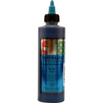 Chefmaster Airbrush Food Color, 9-Ounces, Metallic Blue