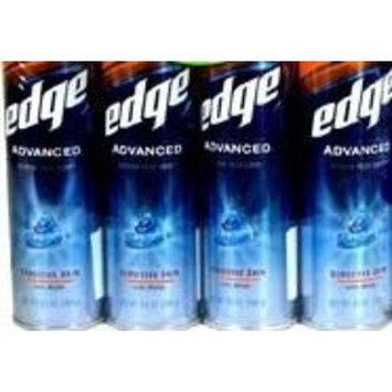Edge Advance Shaving Gel for Sensitive Skin (4 Pack)
