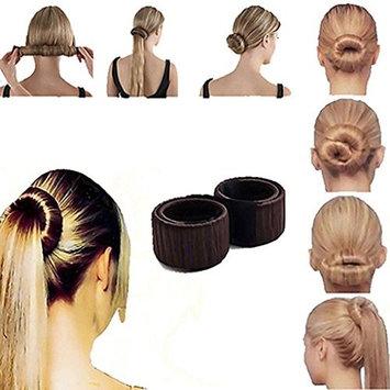 Bluelans Women Twist Hair Bun Maker Donut Styling Braid Holder Accessory Tool