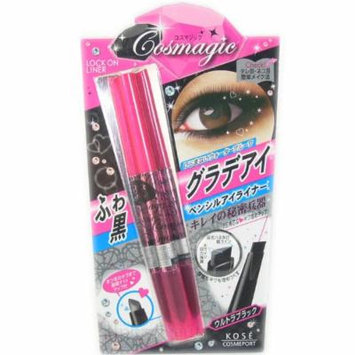 Kose Cosmagic Makeup LOCK ON Eyeliner Pencil - Black