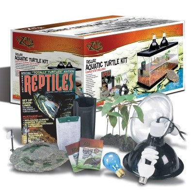 Oceanic Systems Inc Oceanic Systems EN66004 20 l Rzilla Aquatic Turtle Kit