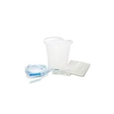Medline DYND70104 Disposable Enema Bucket Set - 1500cc - Case Of 50