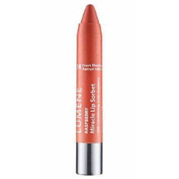 Lumene Raspberry Miracle Lip Sorbet with Four Fabulous Features: Lip Liner, Color, Gloss and Conditioner (14 Fresh Morning)