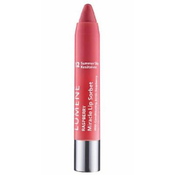 Lumene Raspberry Miracle Lip Sorbet with Four Fabulous Features: Lip Liner, Color, Gloss and Conditioner (12 Summer Sky)