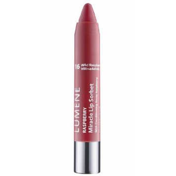 Lumene Raspberry Miracle Lip Sorbet with Four Fabulous Features: Lip Liner, Color, Gloss and Conditioner (16 Wild Raspberries)