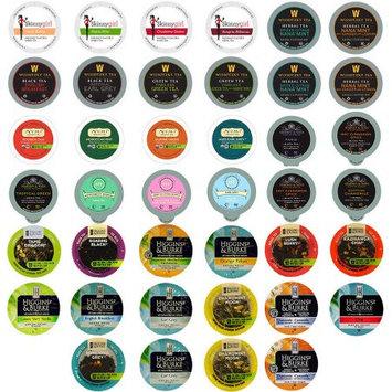 Ssbd Tea Single Serve Cups for Keurig K Cup Brewer Variety Pack Sampler, 40 Count