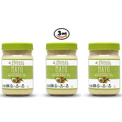 Primal Kitchen Avocado Mayonnaise 12 Ounce Jars 3 Pack
