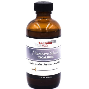 Taconic Shave Excalibur Mentholated After Shave Splash - Artisan Made in the USA