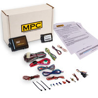 Mpc Complete Add-On Remote Start Kit For 2006-2010 Toyota Yaris - Includes Bypass Module - Uses Factory Remotes