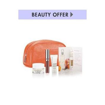CHANTECAILLE Gift set :Tangerine Faux leather Makeup case +4 pieces cosmetics -