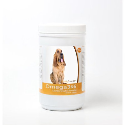 Healthy Breeds 840235143109 Bloodhound Omega 3 & 6 Soft Chews - 120 count