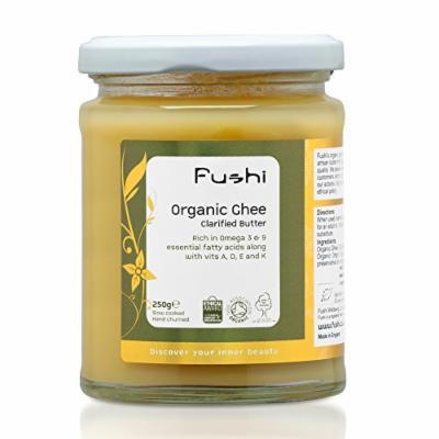 Fushi Ghee Clarified Butter 300ml, Organic Fresh Grass Fed, Hand Churned