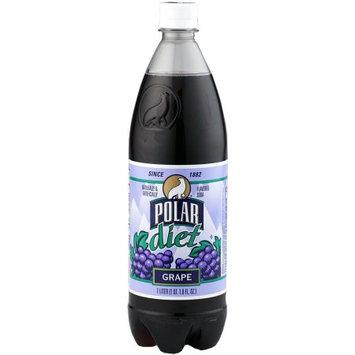 Polar Diet Soda, Grape, 33.8 Fl Oz (Pack of 12)