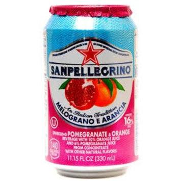 San Pellegrino Melograno E Arancia (Pomegranate & Orange) 11.15 Fl Oz 4 Pack