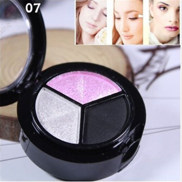 TraveT Smoky Cosmetic Eye Shadow Makeup Tools Eye Shadow Palette Glitter
