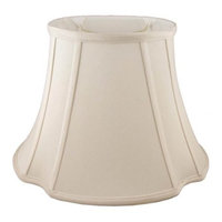 French Oval Lampshade in Natural
