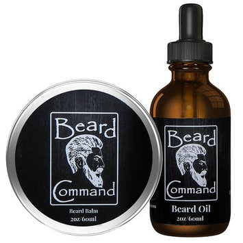 Beard Oil and Beard Balm Kit for Men Care - Cherry scented Leave in Beard Conditioner, Beard Butter, Growth and Grooming, Softener Gift set - For Beard and Mustache Styling, Shaping, Wax, Spartan,Oils