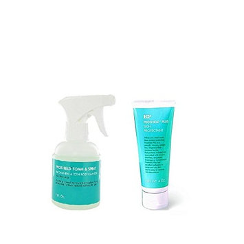 PROSHIELD Plus Skin Protectant 4 oz Tube with 8 oz. Bottle of Foam & Cleanser