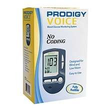 Prodigy Op071950 Diabetes Carevoice Blood Glucose Monitoring System - OP071950