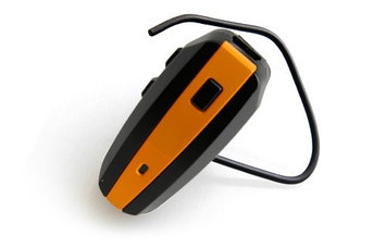 NoiseHush N500-10113 Orange / Black Bluetooth Headset