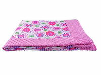Blue Baby Bum 710560426164 Forever Baby Blanket Fairy Tale One Size - Pink & White